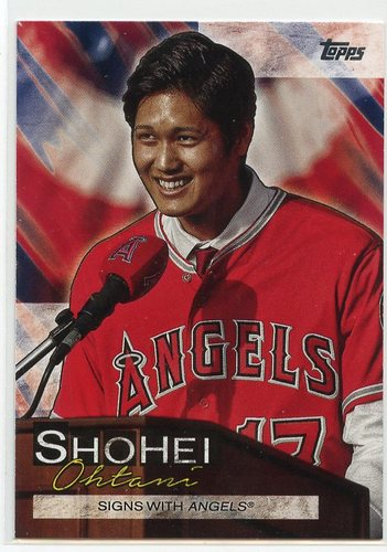 Photo of 2019 Topps Update Shohei Ohtani Highlights #SO3 Shohei Ohtani