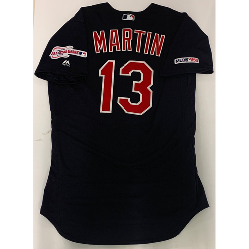Leonys Martin Team Issued 2019 Alternate Road Jersey