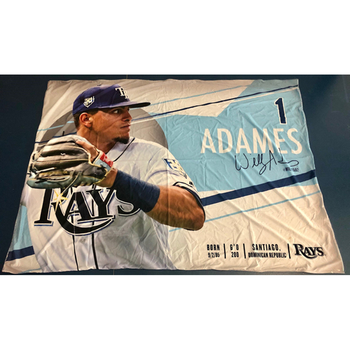 Photo of Rays Baseball Foundation: Team Issued Banner - Willy Adames