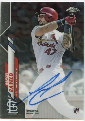 Photo of 2020 Topps Chrome Rookie Autographs #RARR Rangel Ravelo
