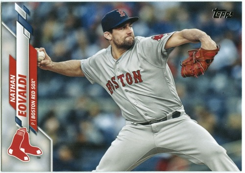 Photo of 2020 Topps #378 Nathan Eovaldi