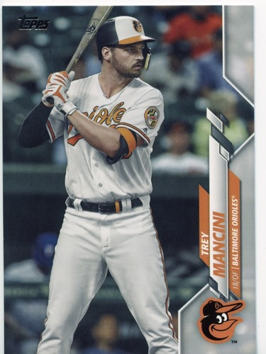Photo of 2020 Topps #458 Trey Mancini