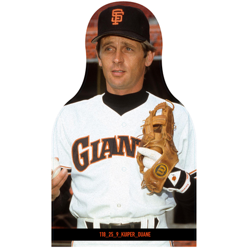 Photo of Giants Community Fund: Giants Duane Kuiper Cutout