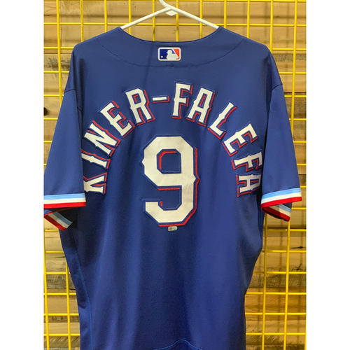 Photo of Isiah Kiner-Falefa Game-Used Spring Training Jersey