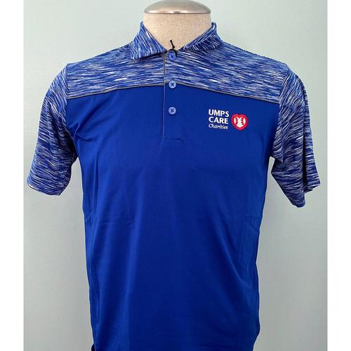 Photo of UMPS CARE AUCTION: UMPS CARE Antigua Men's Dark Royal Final Play Golf Shirt, Size M