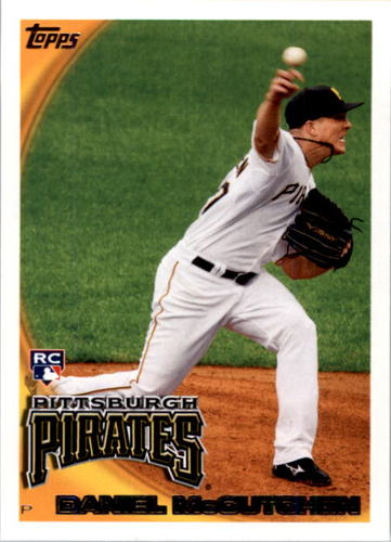 Photo of 2010 Topps #229 Daniel McCutchen RC