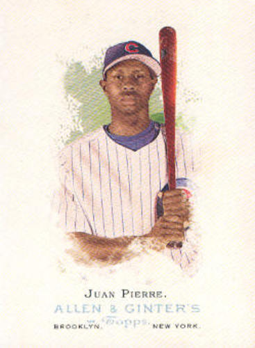 Photo of 2006 Topps Allen and Ginter #13 Juan Pierre