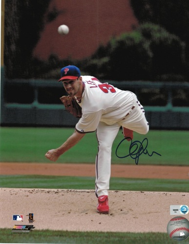 Photo of Cliff Lee Autographed 8x10