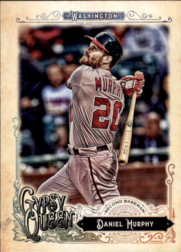 Photo of 2017 Topps Gypsy Queen #96 Daniel Murphy