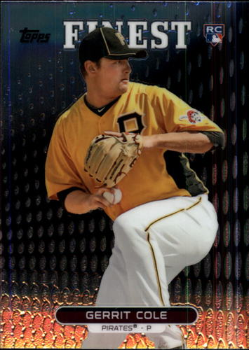 Photo of 2013 Finest #99 Gerrit Cole Rookie Card