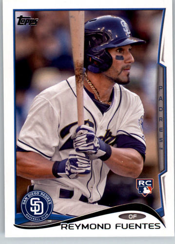 Photo of 2014 Topps #32 Reymond Fuentes Rookie Card