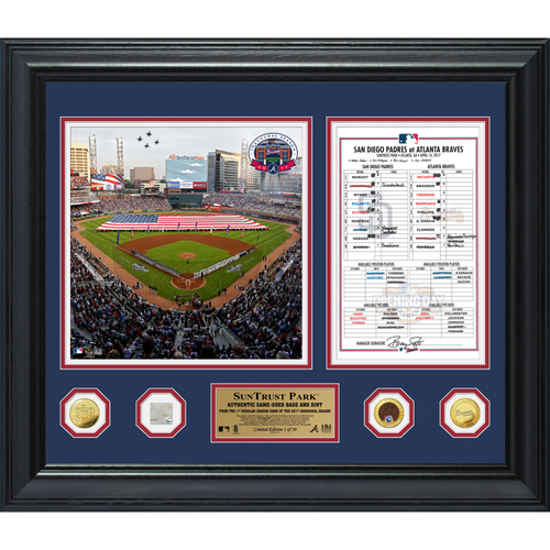 Photo of Holiday Deal of the Day: SunTrust Park Opening Day Frame - Today Only! $200