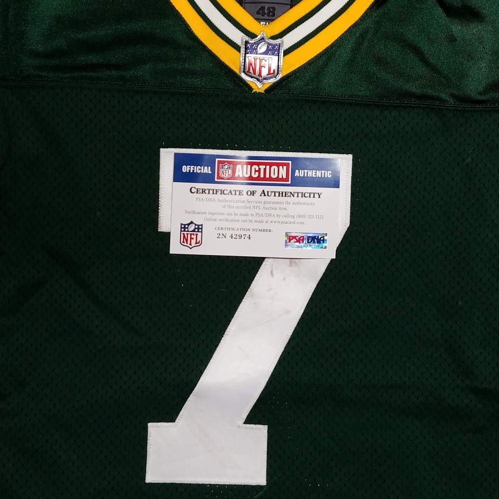 NFL Auction   STS - PACKERS BRETT HUNDLEY GAME WORN PACKERS JERSEY ...