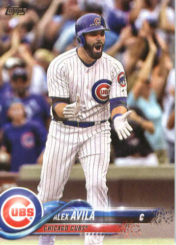 Photo of 2018 Topps #53 Alex Avila