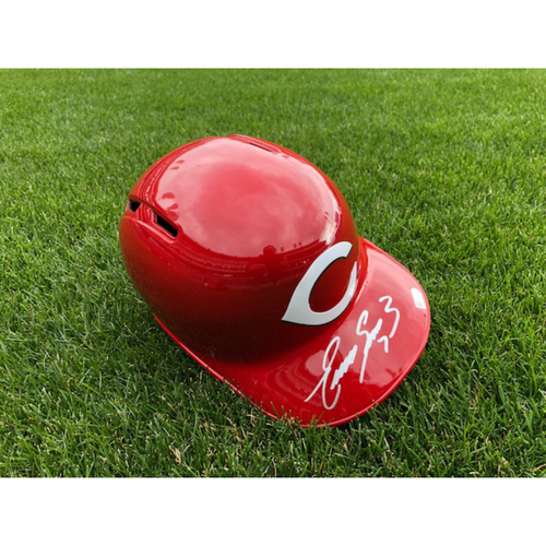 Photo of Eugenio Suarez -- Autographed Helmet