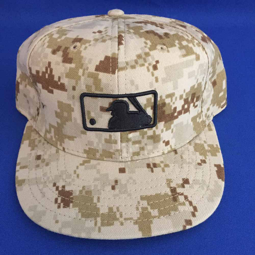 Photo of UMPS CARE AUCTION: MLB Specialty Camo Umpire Base Cap, Size 7 1-8