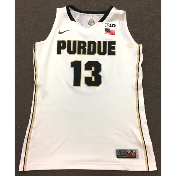 Photo of Perry #13 Purdue Women's Basketball 2016-17 White Jersey