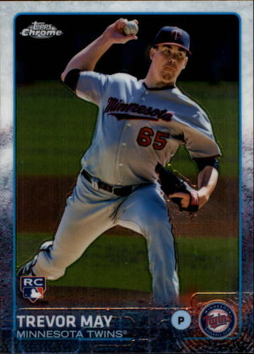 Photo of 2015 Topps Chrome #118 Trevor May RC