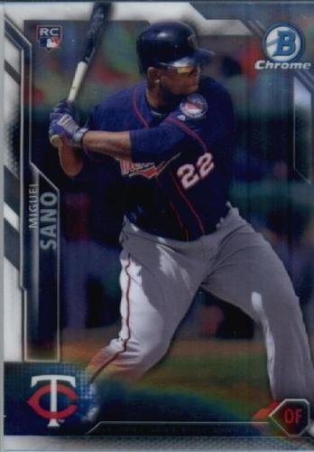 Photo of 2016 Bowman Chrome #27 Miguel Sano RC