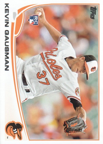 Photo of 2013 Topps Update #US274 Kevin Gausman Rookie Card