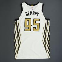 DeAndre' Bembry - Atlanta Hawks - Game-Worn City Edition Jersey - 2018-19 Season
