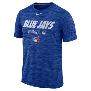 Toronto Blue Jays Authentic Collection Velocity T-Shirt Royal by Nike