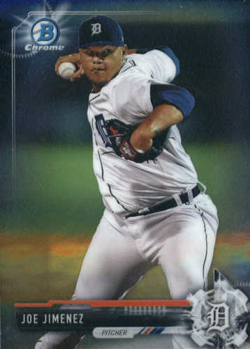 Photo of 2017 Bowman Chrome Prospects #BCP38 Joe Jimenez