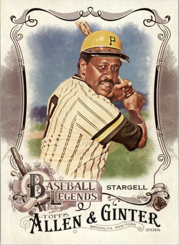 Photo of 2016 Topps Allen and Ginter Baseball Legends #BL20 Willie Stargell