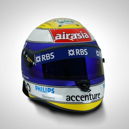 Photo of Nico Rosberg 2007 1:1 Replica Helmet