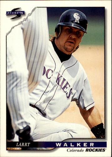 Photo of 1996 Score #13 Larry Walker
