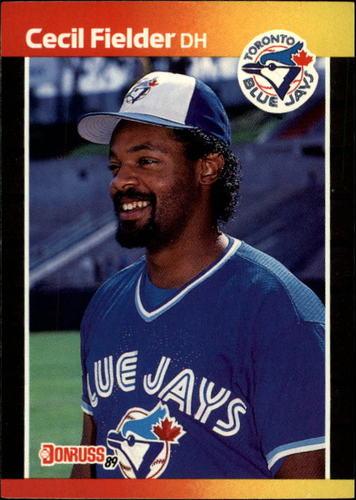 Photo of 1989 Donruss #442 Cecil Fielder
