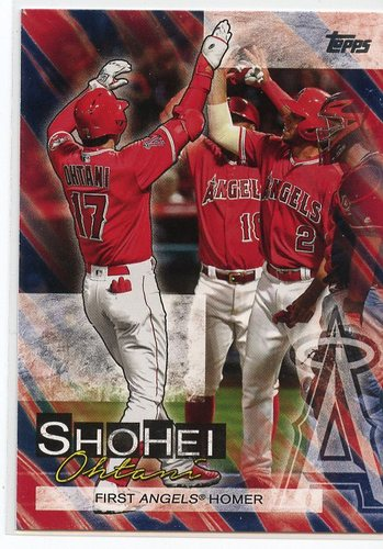 Photo of 2019 Topps Update Shohei Ohtani Highlights #SO6 Shohei Ohtani