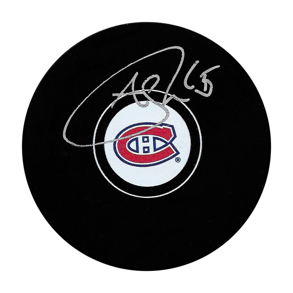 Andrew Shaw Autographed Montreal Canadiens Puck