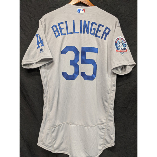 Photo of Cody Bellinger Team-Issued 2018 Road Jersey