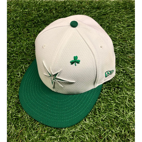 Photo of Team Issued St. Patrick's Day Cap: Avisail Garcia #24 - March 26, 2019 v DET