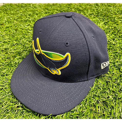 Photo of Team Issued Devil Rays Cap: Paul Hoover #24