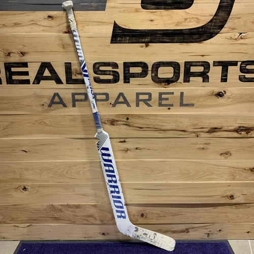 Jack Campbell 2020-21 Game Used Goal Stick (Photo-Matched to NHL Record)