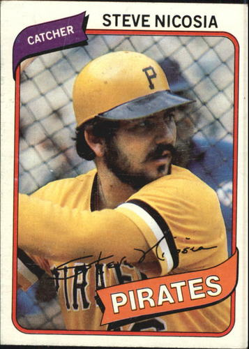 Photo of 1980 Topps #519 Steve Nicosia RC