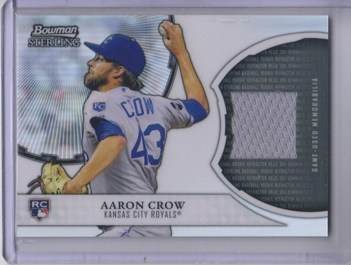 Photo of 2011 Bowman Sterling Rookie Relics #AC Aaron Crow