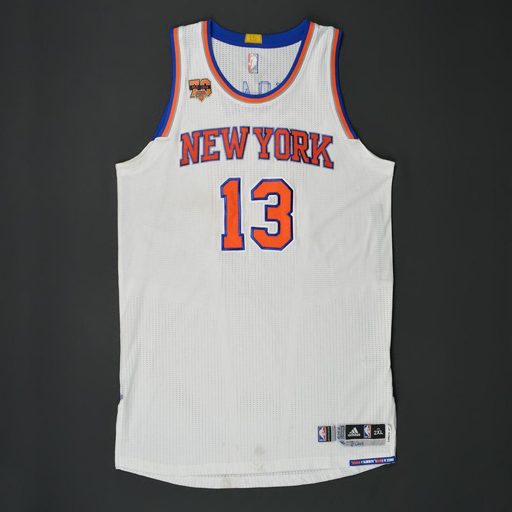 92f0687e150c Joakim Noah - New York Knicks - Kia NBA Tip-Off  16 - Game-Worn ...
