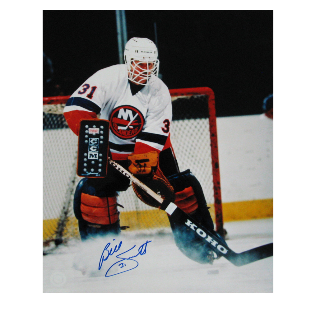 BILLY SMITH Signed New York Islanders 16 X 20 Photo - 79037