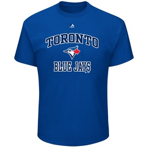 Toronto Blue Jays Heart & Soul 3 T-Shirt by Majestic