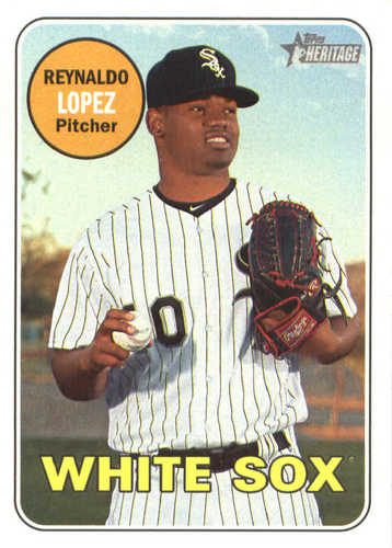 Photo of 2018 Topps Heritage #296 Reynaldo Lopez