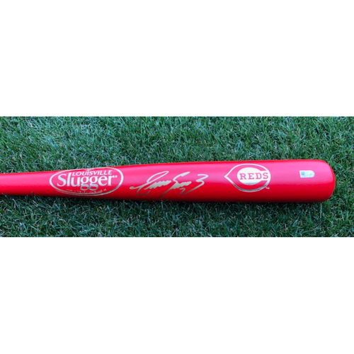 Photo of Eugenio Suarez -- Autographed Bat