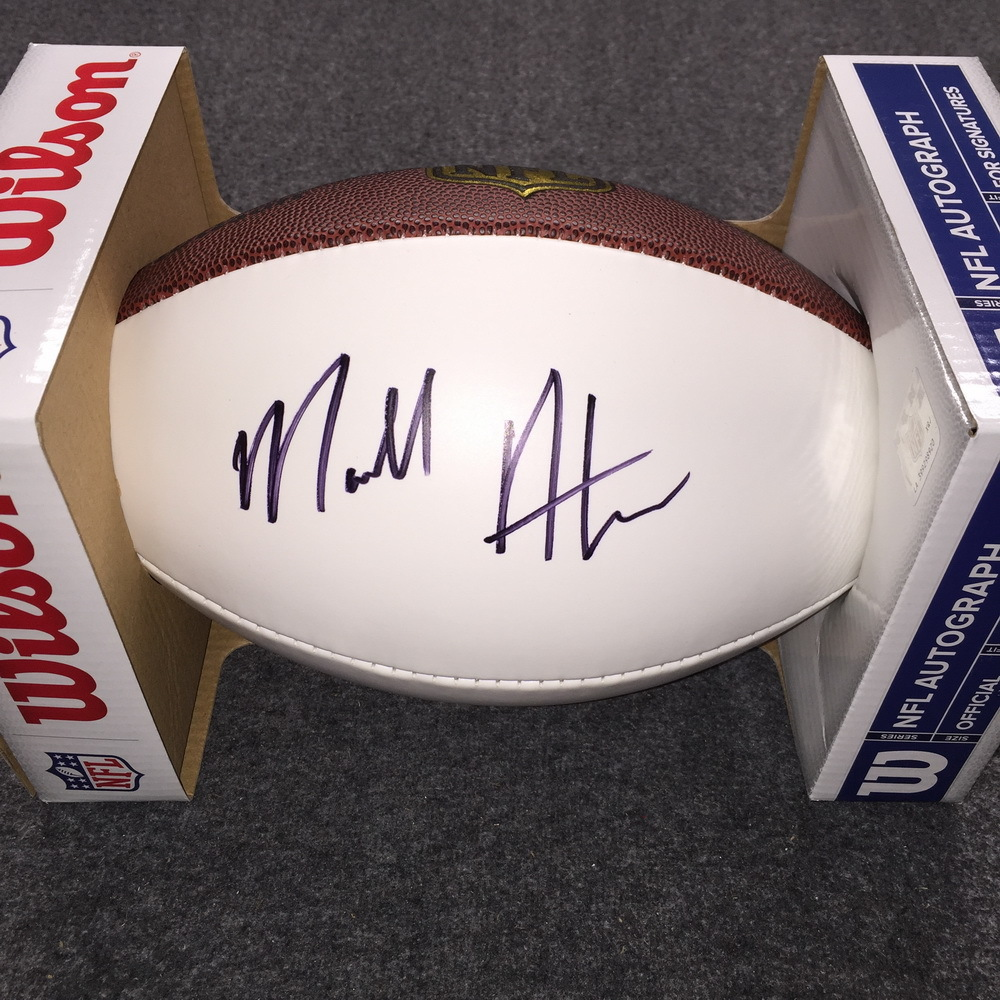 NFL - Raiders Marcell Ateman signed panel ball