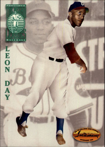 Photo of 1994 Ted Williams #103 Leon Day -- Hall of Fame Class of 1995