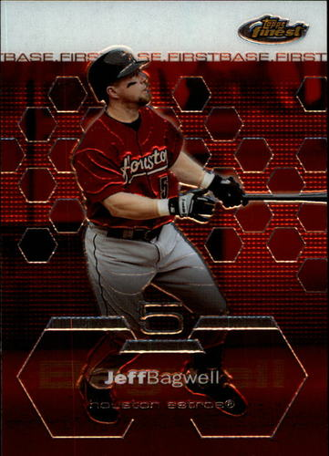 Photo of 2003 Finest #85 Jeff Bagwell