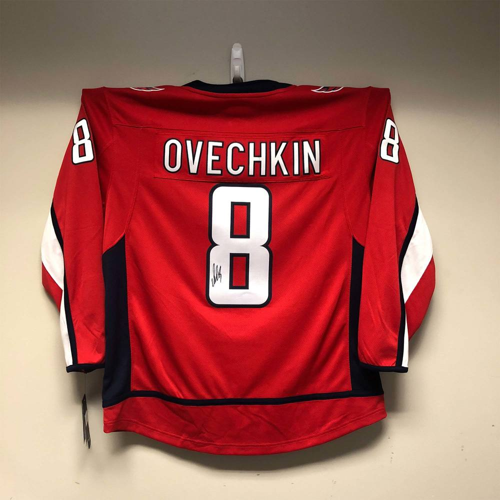 Washington Capitals Fanatics Jersey Signed by #8 Alex Ovechkin