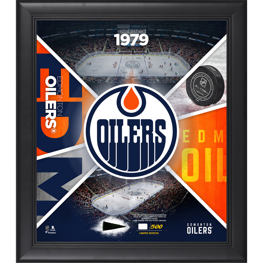 Edmonton Oilers Framed 15