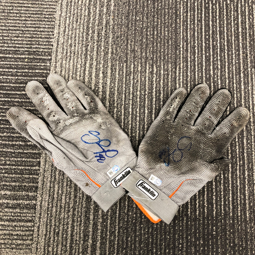 Photo of 2017 Autographed Batting Gloves - #48 Pablo Sandoval